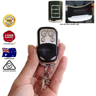1x Garage Door Remote Control compatible with 4Ddoors 4DR1 v1  433.92mhz