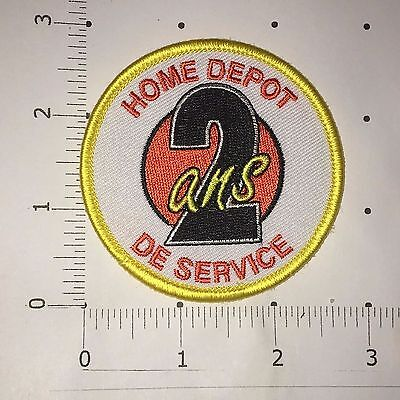 "Home Depot 2 ans De Service Patch  - 2 3/4"" x 2 3/4"""