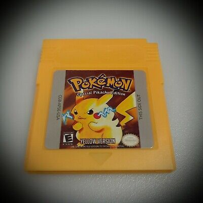 Pokemon Yellow Version GameBoy Color GBC (FREE SHIPPING)