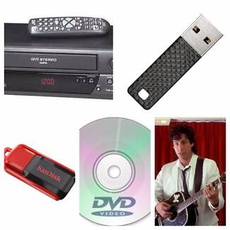 VHS to DVD or USB stick conversion Grange Charles Sturt Area Preview