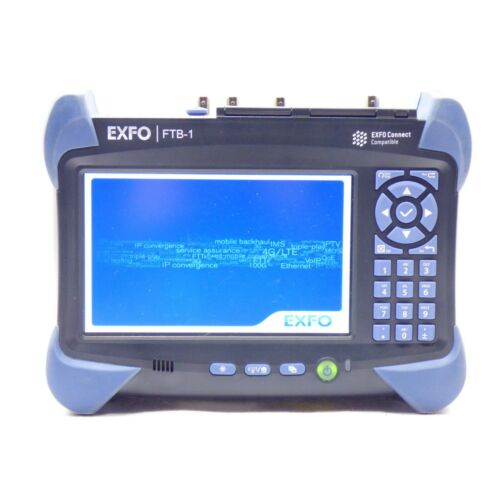 EXFO FTB1 Mainframe FTB-1-S1-8G Connect Compatible Platform w/ Case & Charger