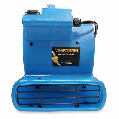 Blower Floor (BlueDri Mini Storm Mini Air Mover Carpet Dryer Blower Floor Fan Home Janitorial )
