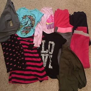 Youth girls clothing lot size 10/12
