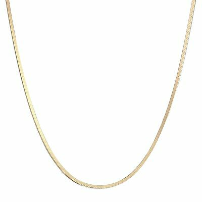 - Eternity Gold Classic Snake Chain in 10K Gold, 20