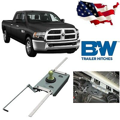 B&W GNRK1384 Turnover Ball Gooseneck Hitch For 2014-2018 Dodge Ram 2500  Ball Gooseneck Hitch