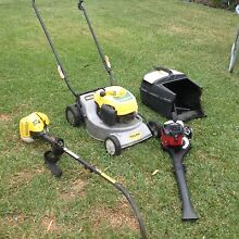 Lawn mower whipper snipper and blower Sunbury Hume Area Preview