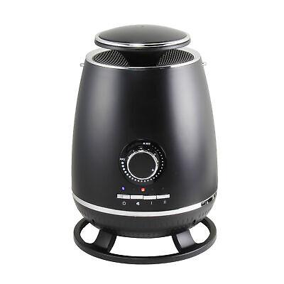 Comfort Zone CZ360BK 360° Ceramic Heater with Safety Tip-ov