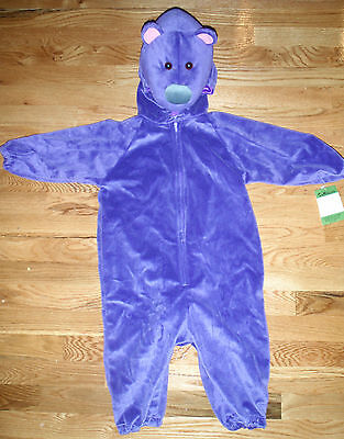 NWT! DISNEY Bear Big Blue House Otter PIP POP Fancy Dress Infant COSTUME 18-24M - Infant Bear Costumes