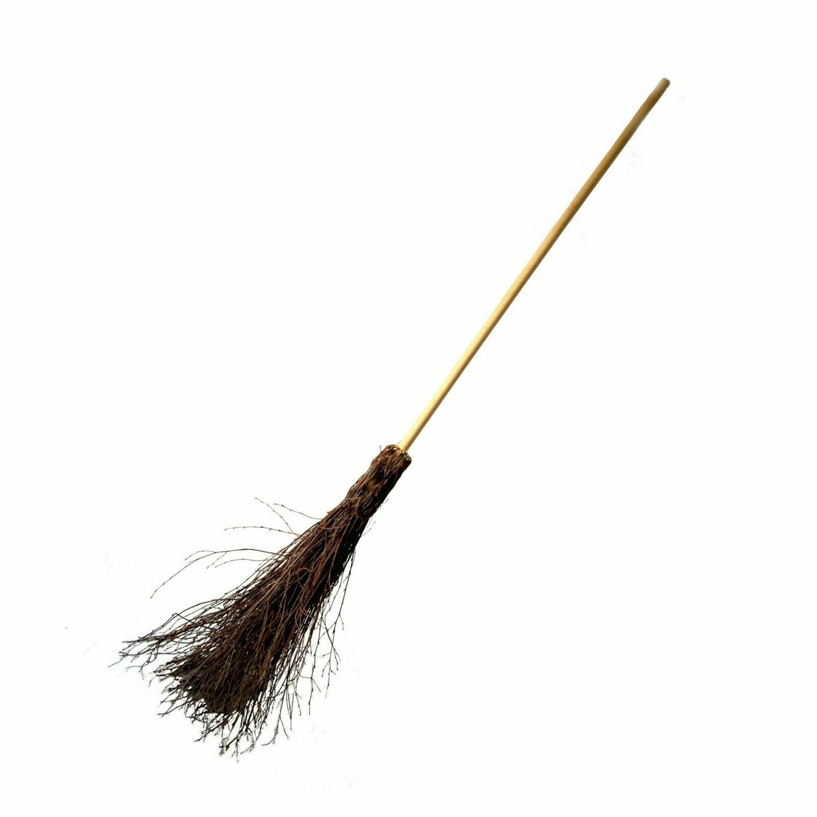 140cm Besom broom Witches broomstick decorated for Halloween Theater Etc 369 1