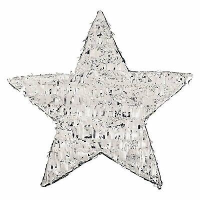 Amscan 45cm Silver Foil Star Pinata Party Game