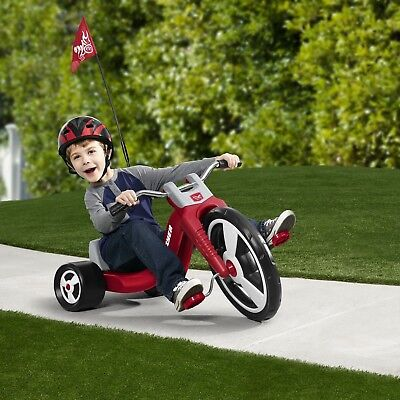 Big Wheels For Kids Tricycle Boys Red 16