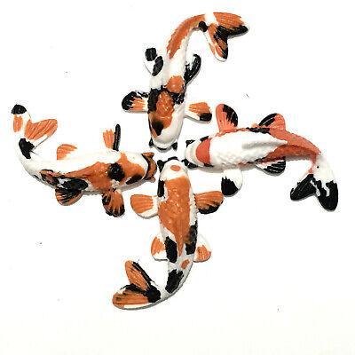 "Miniature KOI 2.5/"" mini fighting fish koi pond zen garden3d painting party favor"