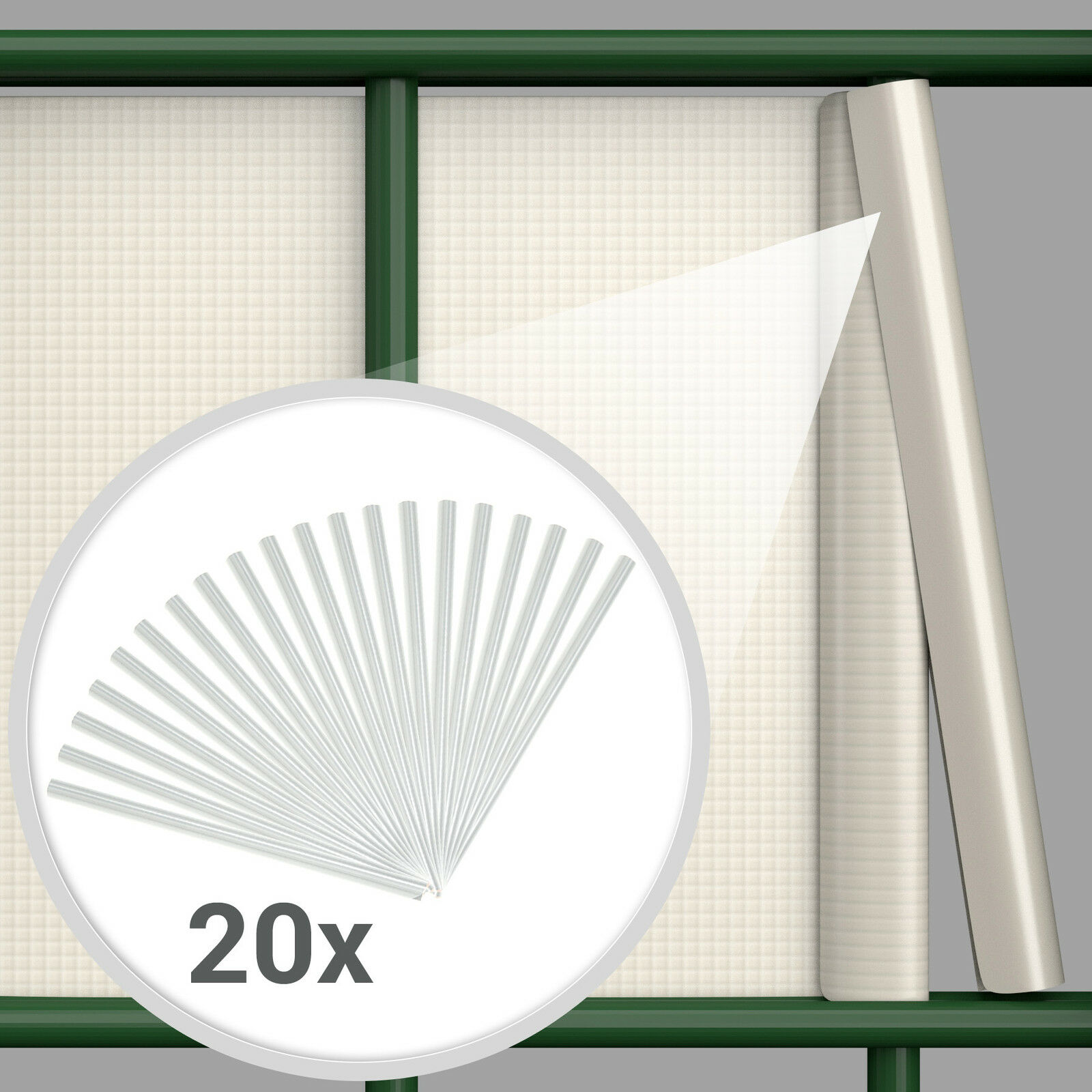 Pvc Sichtschutz Doppelstabmatten : PVC Sichtschutz Streifen Sichtschutzfolie Doppelstabmatten Zaun Schutz