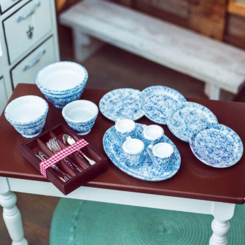 "25PC SpatterWare Dish & Utensil Kitchen Accessory Set for 18"" American Girl Doll"