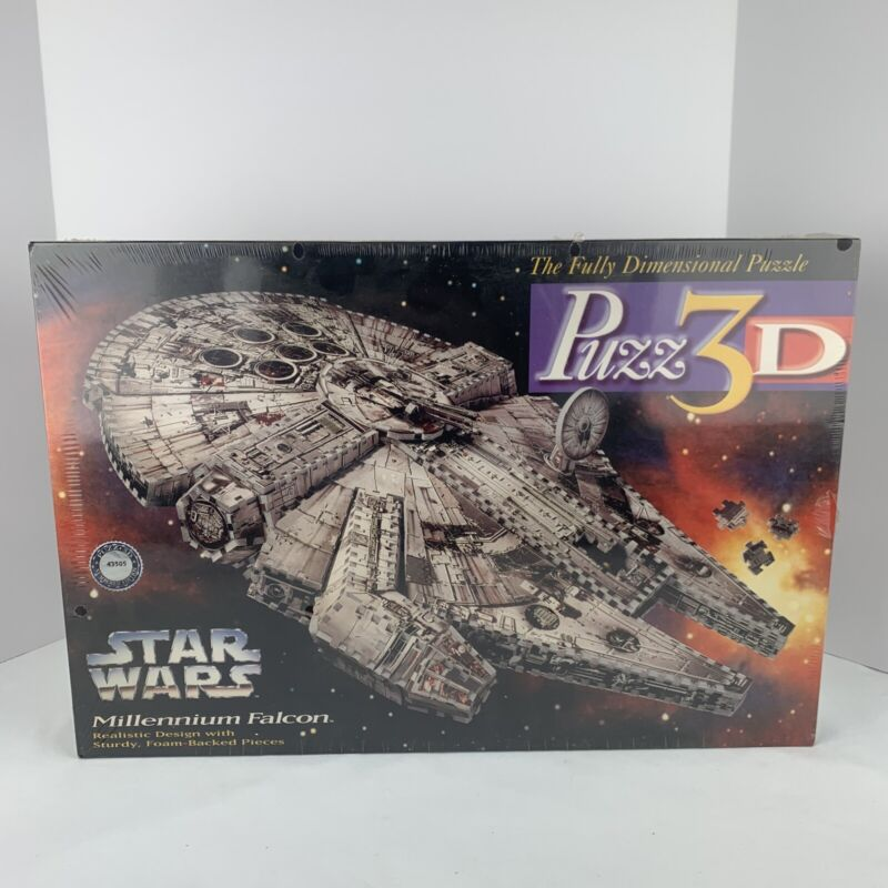 Puzz3D Star Wars Millennium Falcon 3D Puzzle New in Box