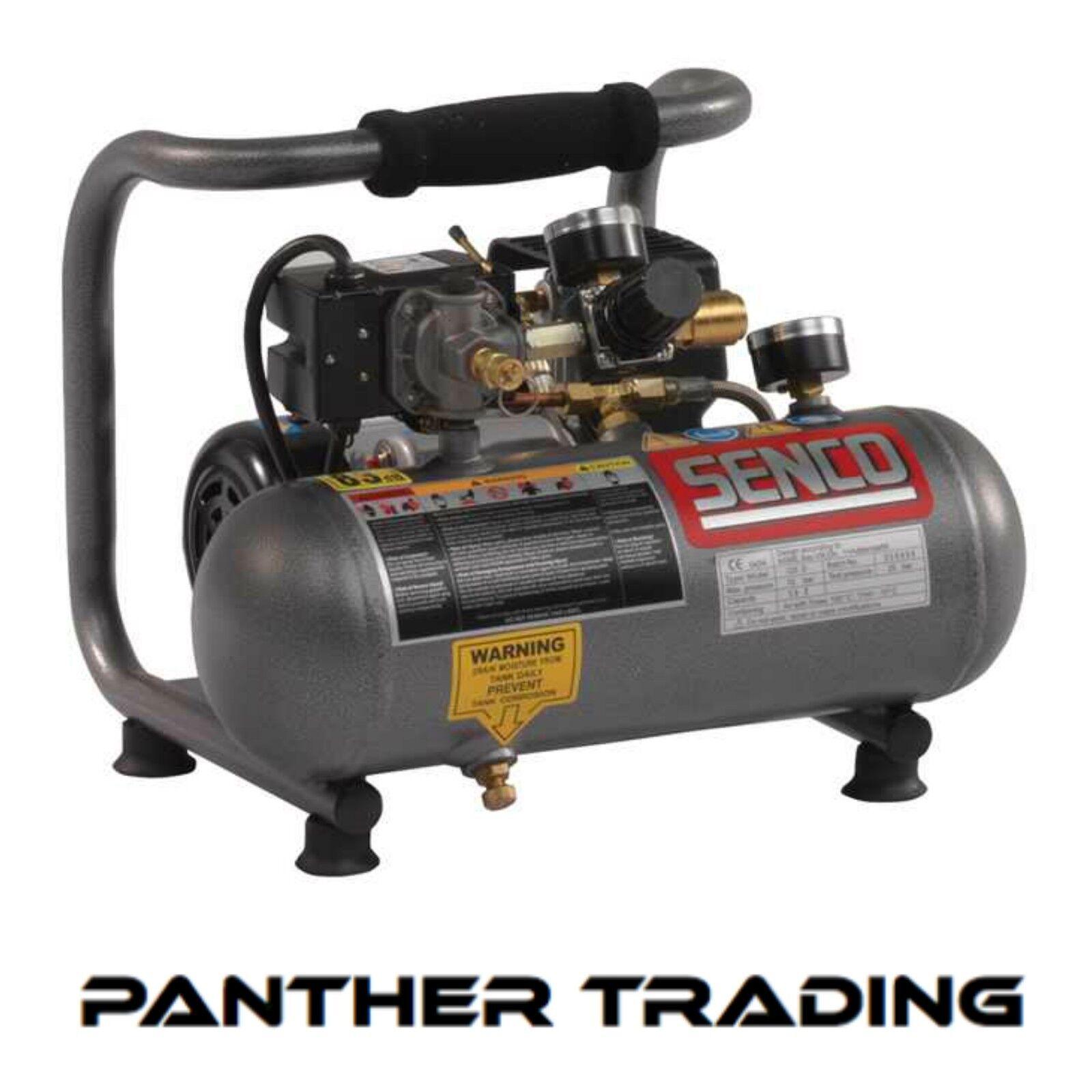 Senco portable compact compressor 0 5 hp 110v or 230v for 5 hp 110v electric motor