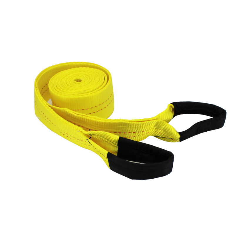 HFS(R) 3 Inch, 20Ft Tow Strap, 30,000 Pound Capacity with Reusable Storage Strap