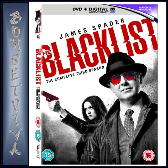 THE BLACKLIST - COMPLETE SEASON 3 *BRAND NEW DVD**