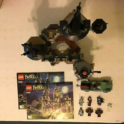 LEGO Monster Fighters Vampire Castle 9468 100% COMPLETE Good Condition (w/o box)