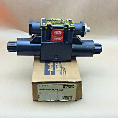 New Parker D1vw011cnjglmj7y Directional Hydraulic Valve