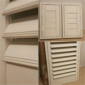 5 x NEW White Plantation style Shutters | Other Home ...