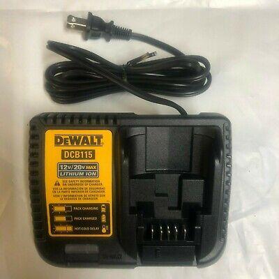DEWALT DCB115 12 and 20 Volt  Battery Charger NEW