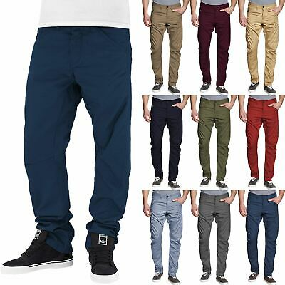 New Mens Jack Jones Slim Twisted Relaxed Chino Jeans Workwear Anti Fit Trousers