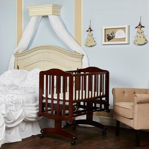 Baby Nursery Bassinet Infant Crib Portable Cradle Newborn Sleeper Bed Glider New