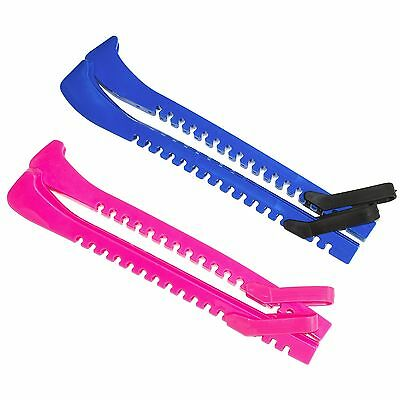 Centipede HOCKEY ICE SKATE Blade Guard Cover ONE SIZE FITS ALL ~ BLUE or PINK