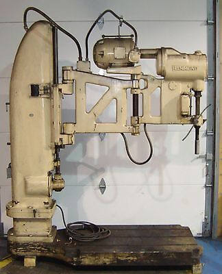 Sls1a8 Radial Arm Drill The Foot-burt Co. 0177so