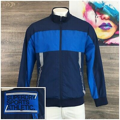 Superdry Sports Athletic Bomber Casual Jacket Size 2XL (Fits like XL) Full Zip
