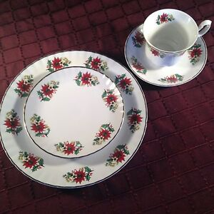 Fine china dishes from Romania