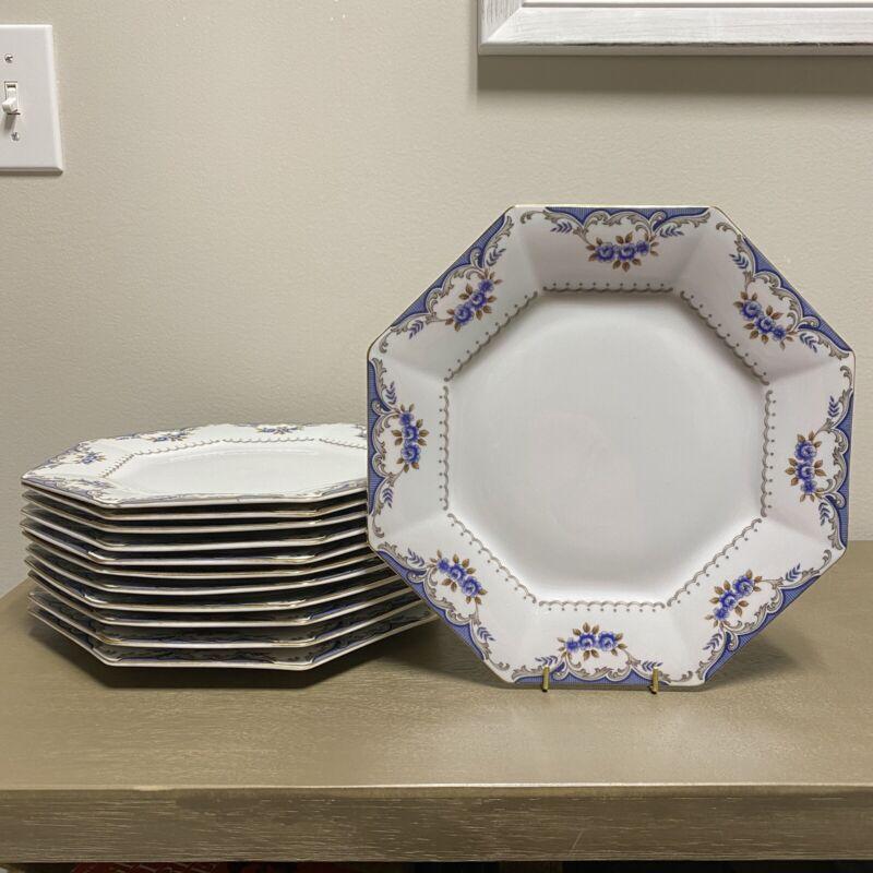 "Vintage Harmony House ""Versailles"" Dinner Plate (Set Of 12) Japan"