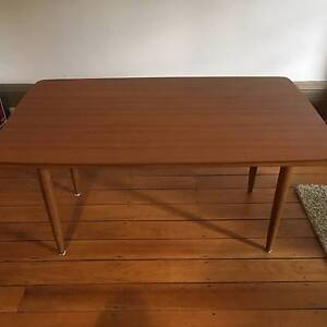 Mid-Century Laminated Cigar Leg Table Woolloomooloo Inner Sydney Preview