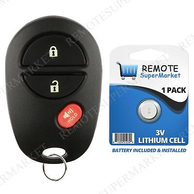 Replacement for Toyota 2004-2015 Sienna Tacoma Remote Car Keyless Entry Key Fob