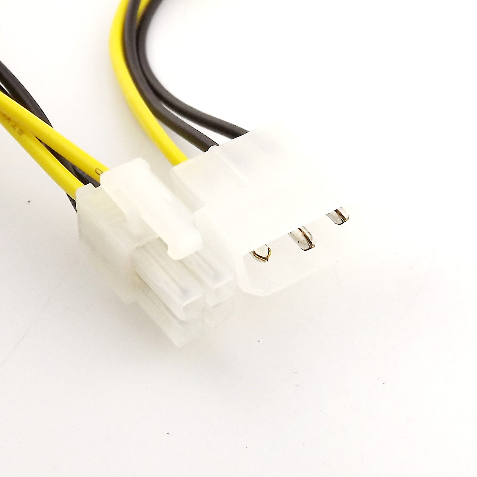 """10pcs 12/"""" Inch Molex to 4-pin ATX Male or Female Power Adapter Detachable Cable"""