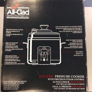 All-Clad Electric Pressure Cooker - BRAND NEW