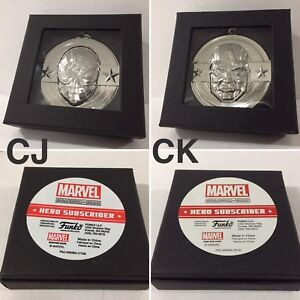 Marvel Collector Corps Exclusive Subscriber Medals