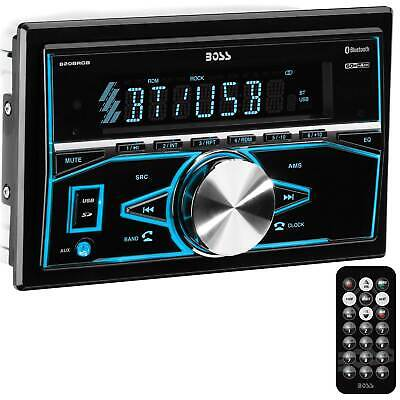 Boss Audio Systems 820BRGB Double DIN Mechless Bluetooth Multimedia Player