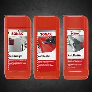 sonax autopolitur autopflege wartung ebay. Black Bedroom Furniture Sets. Home Design Ideas