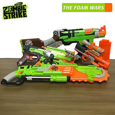 Nerf Zombie Strike package, Sling Fire, Crossfire Bow