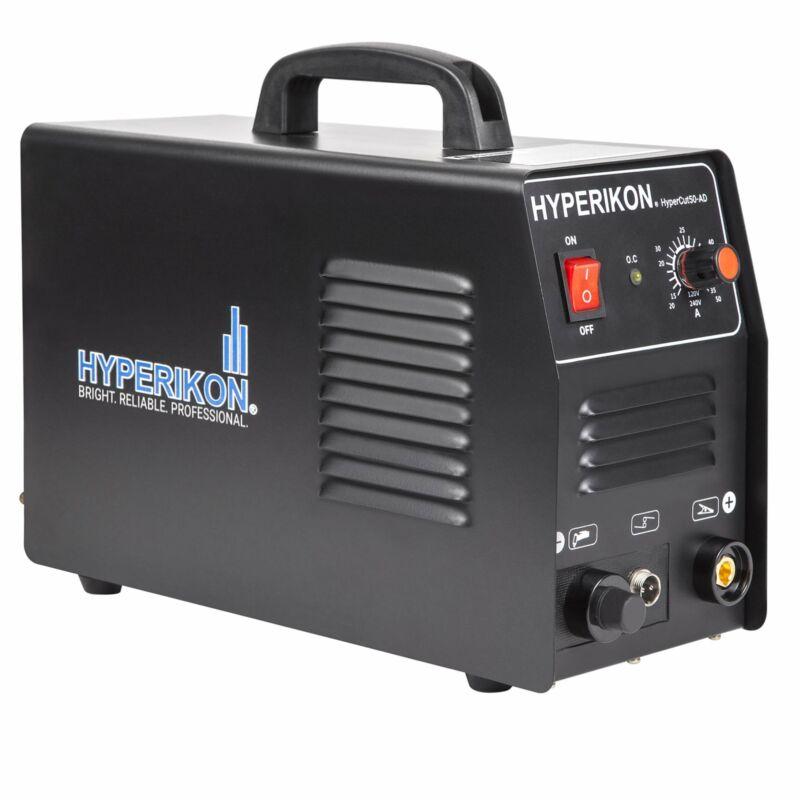 Hyperikon Plasma Cutter 10 45 Amp, Dual Voltage 120V 240V, PT 31 LG40 Cutting