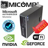 HP Gaming Computer PC Nvidia GT 1030 HDMI WiFi Quad i5 3.1GHz 8GB 500GB Win 10