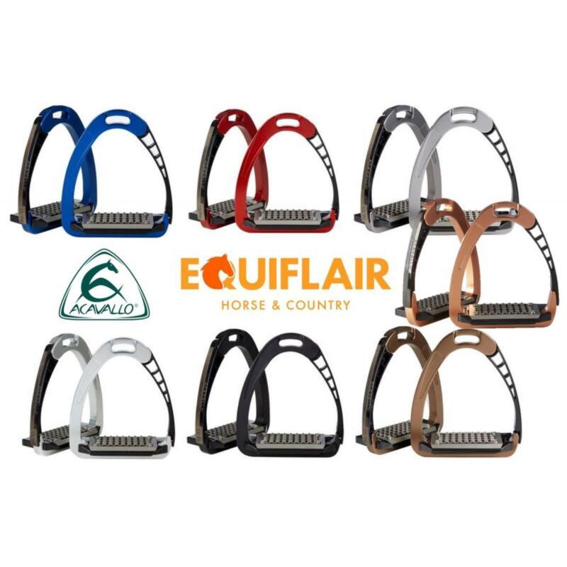 Acavallo Arena AluPro Safety Stirrups Stirrup Irons