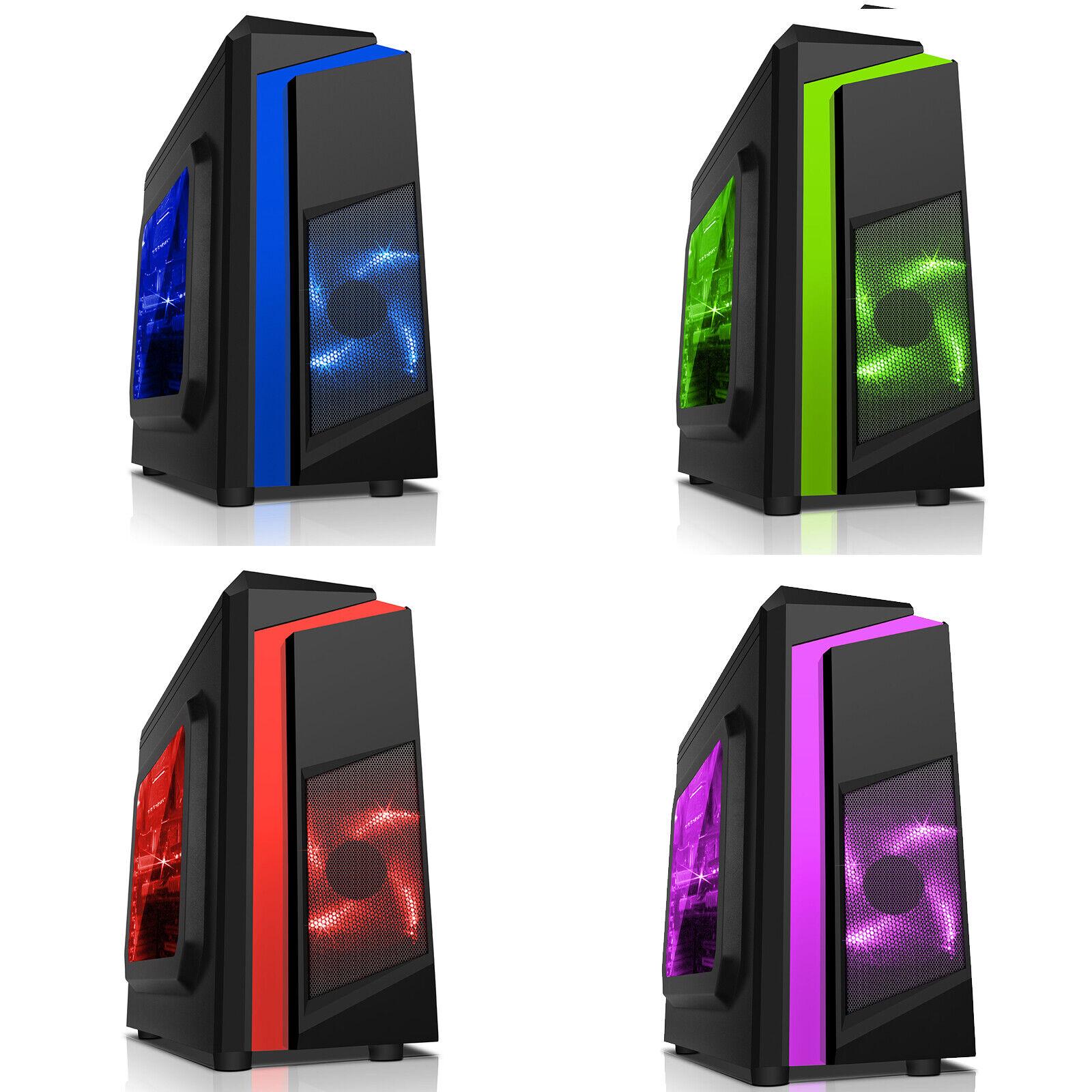 Computer Games - Fortnite AMD 2200G Quad Core 8GB 1TB Windows 10 Gaming PC Computer F3