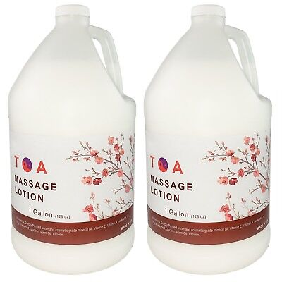 Hydrating Unscented Body Lotion - TOA Hydrating Body Unscented Massage Lotion 2 Gallons