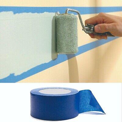 3 R2x165 Blue Painters Tape Clean Release Trim Edge Finishing Masking Tape