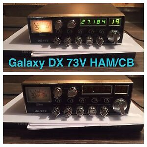 Galaxy DX 73V CB/HAM Dual Band Radio