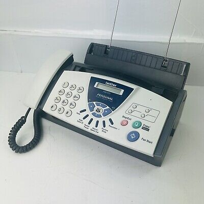 Brother Fax-575 Personal Fax With Phone And Copier - Tested