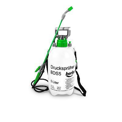 5 Liter Drucksprüher Gartenspritze Pflanzensprüher Unkraut Pumpsprüher Sprüher